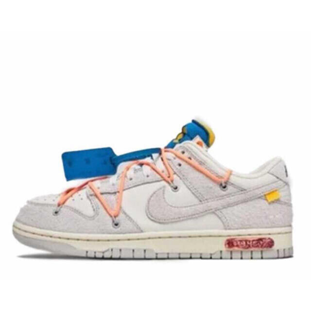 NIKE(ナイキ)のNIKE DUNK LOW off-white lot19 27.0cm  メンズの靴/シューズ(スニーカー)の商品写真