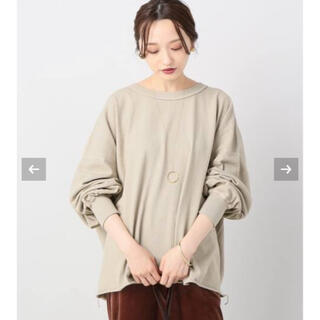 プラージュ(Plage)のCALUXスリーブTシャツ(Tシャツ/カットソー(七分/長袖))