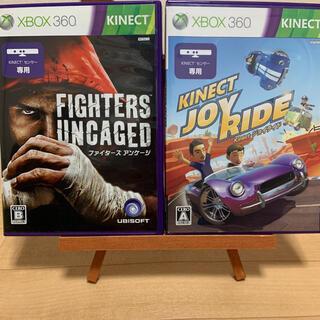 エックスボックス360(Xbox360)のファイターズアンケージ&ジョイライド キネクト専用ソフトセット XBOX360(家庭用ゲームソフト)