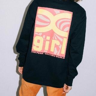 エックスガール(X-girl)のX-girl TWISTED BOX LOGO L/S TEE(Tシャツ(長袖/七分))