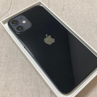 iPhone - iPhone12 mini ブラック 128GB SIMフリー