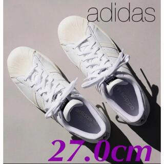 adidas - 新品未使用★アディダス スーパースター★27.0cm