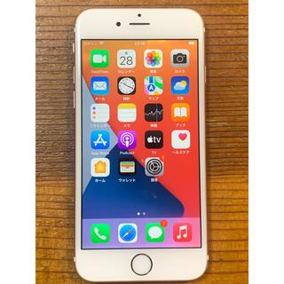 アップル(Apple)のiPhone 6s 16GB Rose gold SIMフリー(スマートフォン本体)