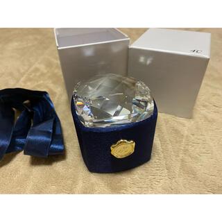 ヨンドシー(4℃)の4℃   ネックレス の 空箱 箱 クリスタル(その他)