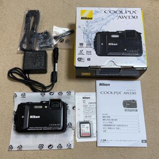 Nikon - ★未使用品★ NIKON COOLPIX AW130 ブラック