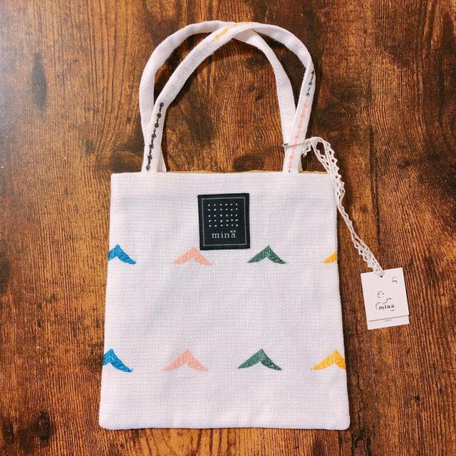 mina perhonen(ミナペルホネン)のミナペルホネン ミニバッグ レディースのバッグ(トートバッグ)の商品写真