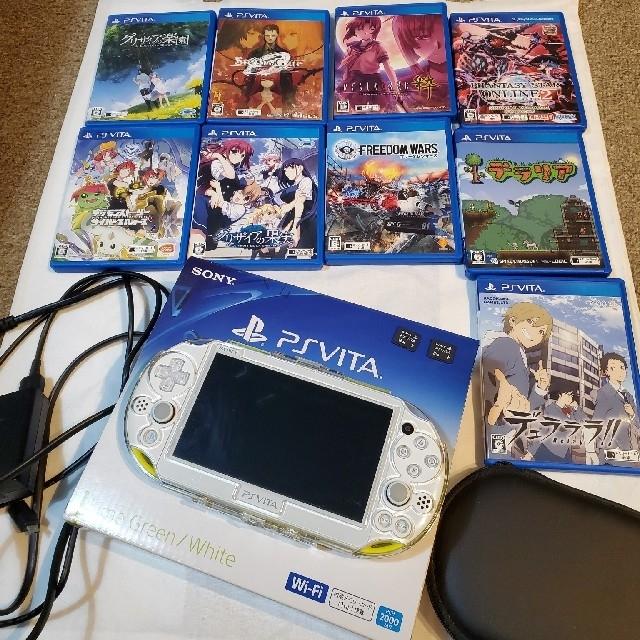 PlayStationVITA PCH-2000・PSP 本体・ソフト  エンタメ/ホビーのゲームソフト/ゲーム機本体(携帯用ゲーム機本体)の商品写真