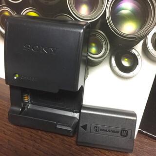 SONY - ソニー★SONY NP-FW50 + BC-VW1