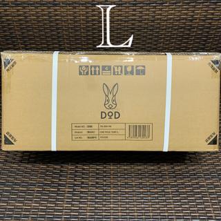 ドッペルギャンガー(DOPPELGANGER)の新品 DoD 黒 ワンポール テント L 未開封 ディーオーディー キャンプ(テント/タープ)