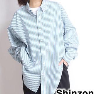 Shinzone - shinzone DADDY SHIRT/ダディーシャツ 【グリーン】