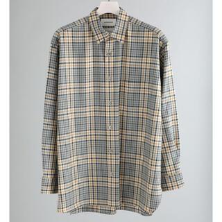 マーカウェア(MARKAWEAR)のmarkawear チェックコンフォートフィットウールシャツ(シャツ)