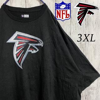 【NFL】アトランタ・ファルコンズ Tシャツ 半袖 アメフト 3XL 古着