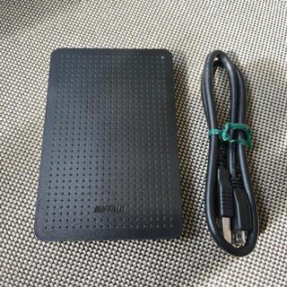 バッファロー ポータブルHDD ハードディスク 500GB