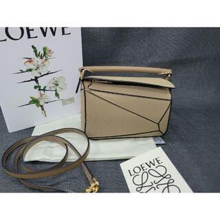 LOEWE - ロエベ パズルバッグ ミニ タン