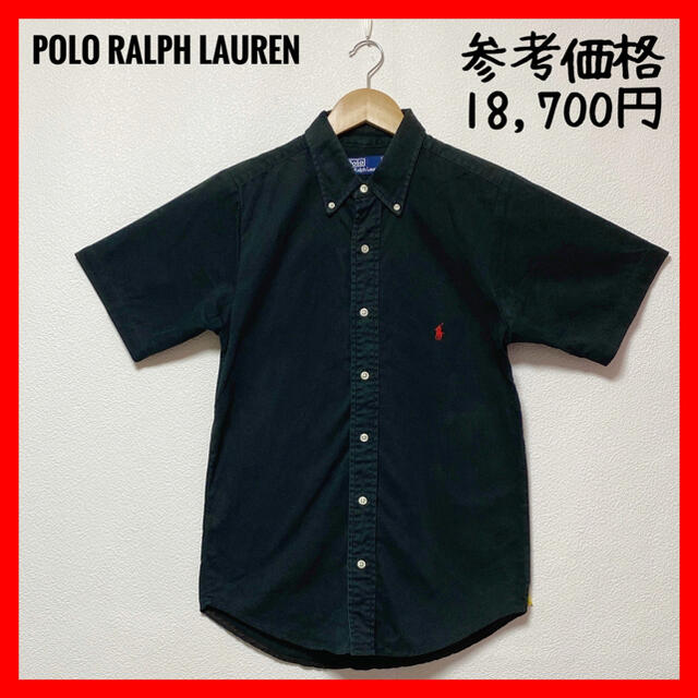 POLO RALPH LAUREN(ポロラルフローレン)のPOLO RALPH LAURENポロラルフローレン✨シャツ デニム 黒 M メンズのトップス(シャツ)の商品写真