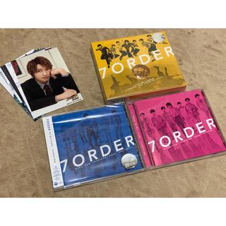 7ORDER  CD  3形態 雨が始まりの合図 おまけ付き(ポップス/ロック(邦楽))