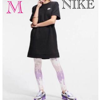 ナイキ(NIKE)のNIKE ナイキ Tシャツ ナイキワンピース ナイキドレス新品M(ひざ丈ワンピース)