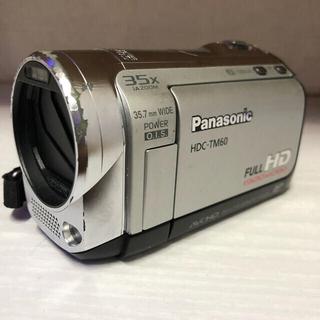 パナソニック(Panasonic)のPanasonic デジタルハイビジョンビデオカメラ⭐️HDC-TM60⭐️(ビデオカメラ)