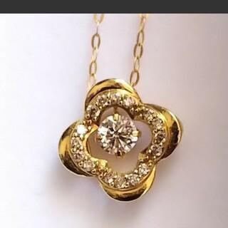 K18YG  ダイヤモンドネックレス 美品