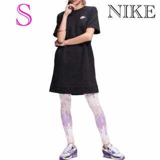 ナイキ(NIKE)のNIKE ナイキ Tシャツ ナイキワンピース ナイキドレス新品S(ひざ丈ワンピース)