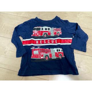 ベビーギャップ(babyGAP)のGAP ロンT 消防車 ネイビー 70(Tシャツ)