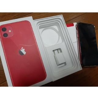iPhone - iPhone11 product red 赤 simフリー 128GB