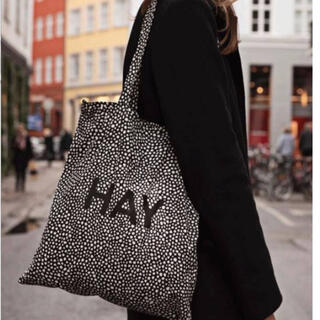 HAY TOTE ドット柄 トートバッグ 新品 正規品