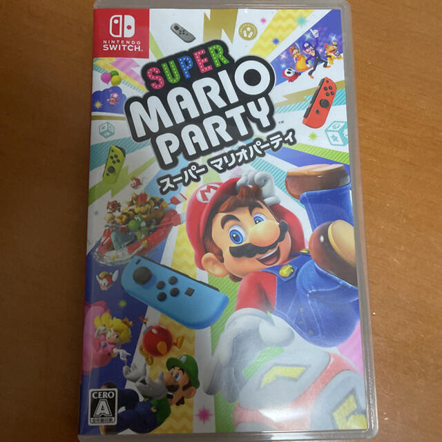 Nintendo Switch(ニンテンドースイッチ)のスーパーマリオパーティー エンタメ/ホビーのゲームソフト/ゲーム機本体(家庭用ゲームソフト)の商品写真