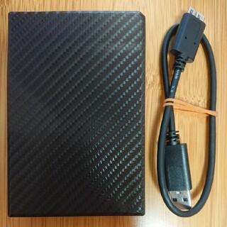 アイオーデータ(IODATA)のIODATA ポータブルHDD 2TB ブリックブラウン HDPT-UT2DBR(PC周辺機器)