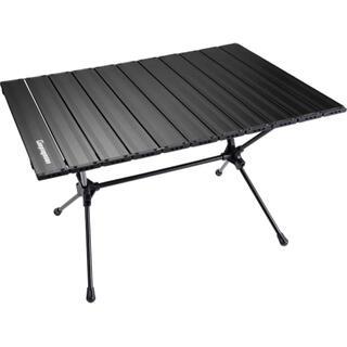 キャンピングムーン スリムロールテーブル ケース付 T520黒