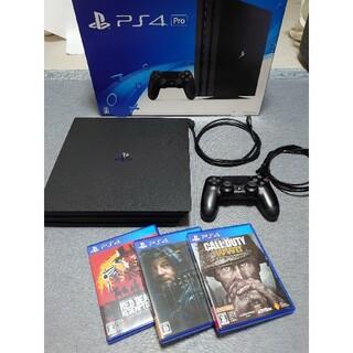 PlayStation4 -  PS4 Pro CUH-7000B 1TB ソフトおまけ付き