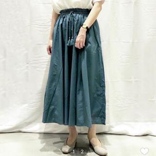 レプシィム(LEPSIM)のレプシィム カラーボイルスカーチョ フリーサイズ(ロングスカート)