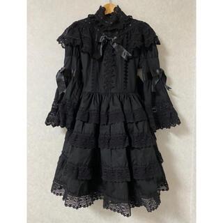 BABY,THE STARS SHINE BRIGHT - エリザベスワンピースとヘッドドレスのセット黒