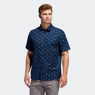 adidas - ウェア ゴルフ adidas ADICROSS 半袖ウーブンシャツ