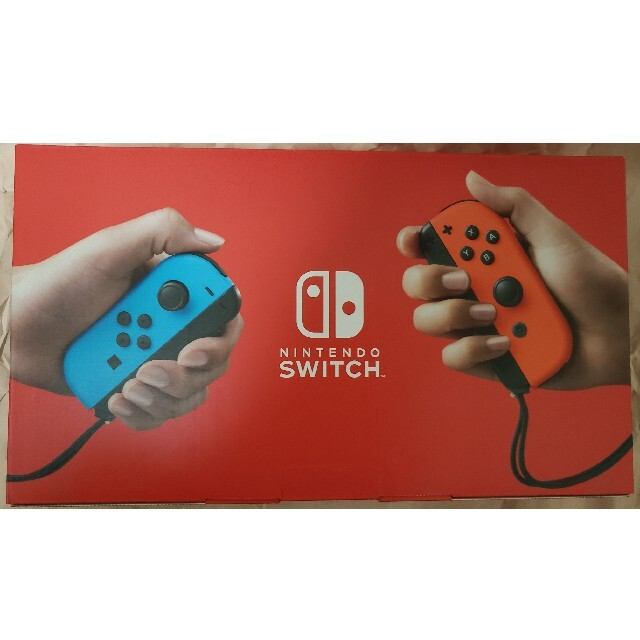 Nintendo Switch(ニンテンドースイッチ)のNintendo Switch 本体Joy-Con(L) ブルー/(R) レッド エンタメ/ホビーのゲームソフト/ゲーム機本体(家庭用ゲーム機本体)の商品写真