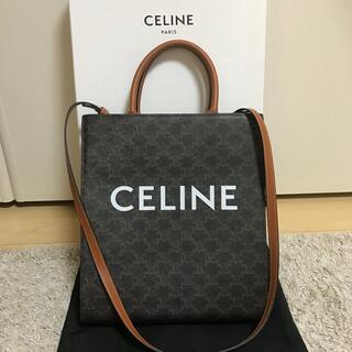 celine - セリーヌ スモールバーティカルカバ トリオンフキャンバス