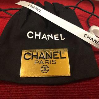 シャネル(CHANEL)のシャネル CHANEL ブローチ ヴィンテージ ロゴプレート GP ゴールド (コサージュ/ブローチ)