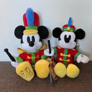 Disney - ディズニーストア タカラトミーアーツ ミッキーの大演奏会 ぬいぐるみ 2点セット