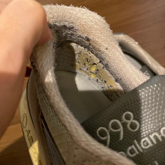 New Balance(ニューバランス)のニューバランス  グレースニーカー 998 メンズの靴/シューズ(スニーカー)の商品写真