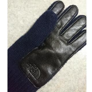 ザノースフェイス(THE NORTH FACE)の【新品】THE NORTH FACE 切替え手袋(手袋)