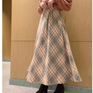 snidel - アシンメトリーデザインスカート