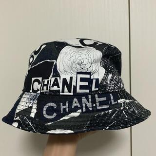CHANEL - CHANEL ハット バケットハット 帽子 美品 L