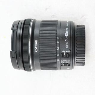 Canon - キヤノン canon zoom lens ef-s 10-18mm f4.5-5