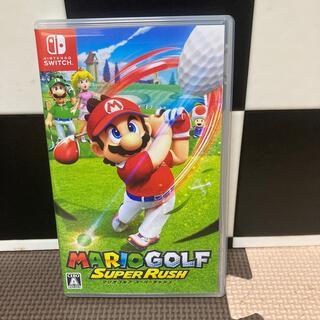 Nintendo Switch - マリオゴルフ スーパーラッシュ  即日発送可