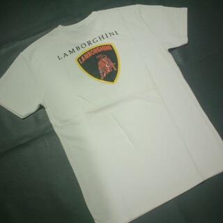 ★激安★Lamborghini★の★お洒落で★綺麗な★Tシャツ★白★新品★(Tシャツ(半袖/袖なし))