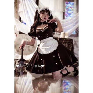 ALICE and the PIRATES - Black  kitty ワンピース3点セット 黒ロリ しゅくれどーる ロリィタ