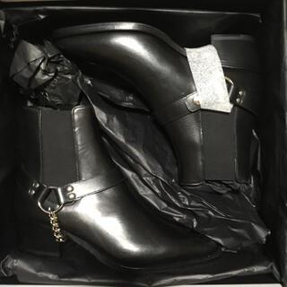 セリーヌ(celine)の限定価格 CELINE カマルグ チェルシー ブーツ w チェーン ハーネス(ブーツ)