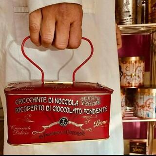DEAN & DELUCA - レオーネ 赤缶 缶 LEONE leone チョコ レトロ オシャレ