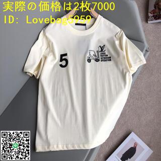 LOUIS VUITTON - LOUIS VUITTON ルイヴィトン LVメンズ 半袖Tシャツ 2枚7000