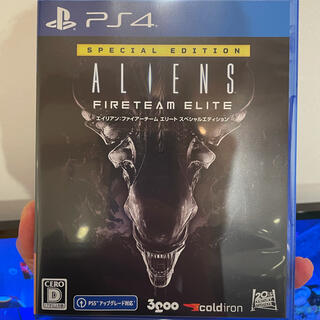 PlayStation4 - PS4 エイリアン ファイアーチーム エリート エイリアン2 DVDセット